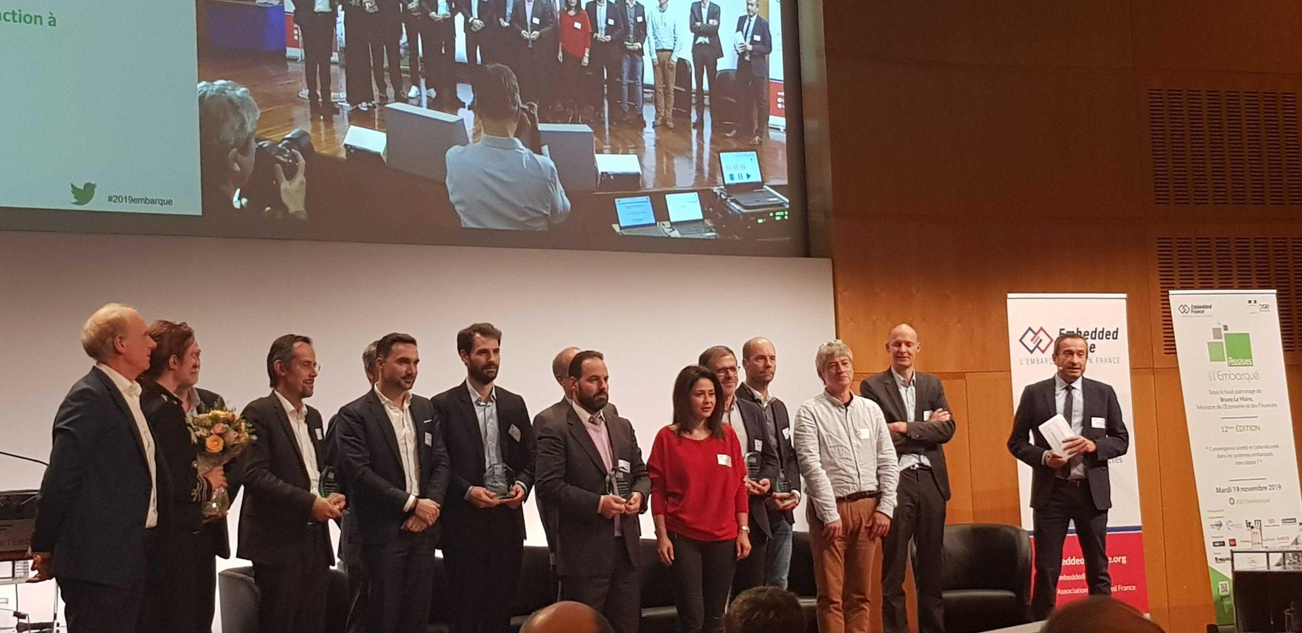 Le CATIE primé aux Trophées de l'Embarqué 2019 pour sa plateforme 6TRON